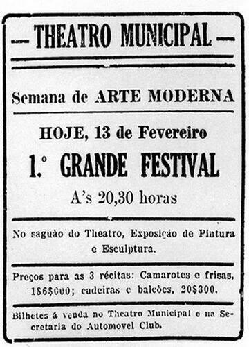 Semana De Arte Moderna Educa Mais Brasil